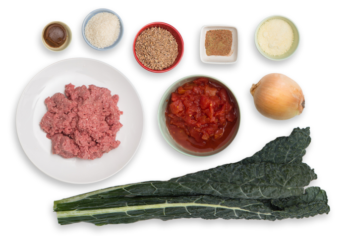 Recipe: Italian Meatball Soup with Farro & Lacinato Kale - Blue Apron