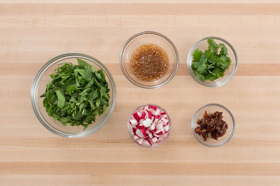 ... Vinaigrette with Browned Butter, Quinoa & Spinach Salad - Blue Apron