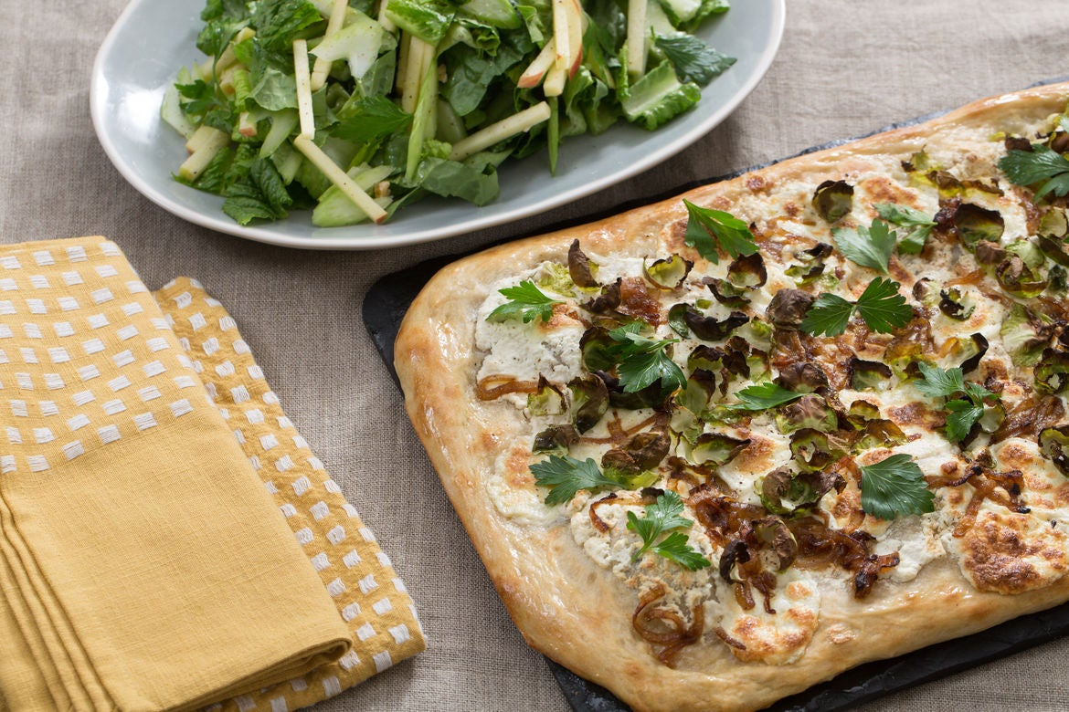 Blue apron pizza dough