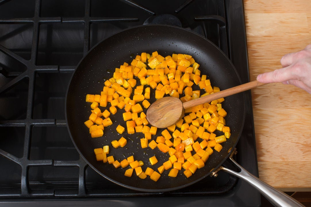 Cook the squash: