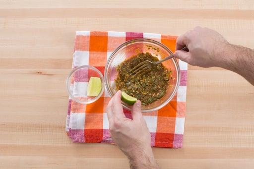 Make the mole verde: