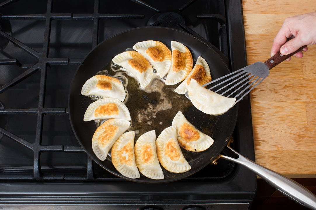 Cook the dumplings: