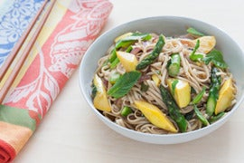 Spring Herb & Vegetable Lo Mein
