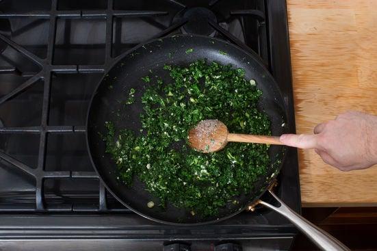 Finish the kale:
