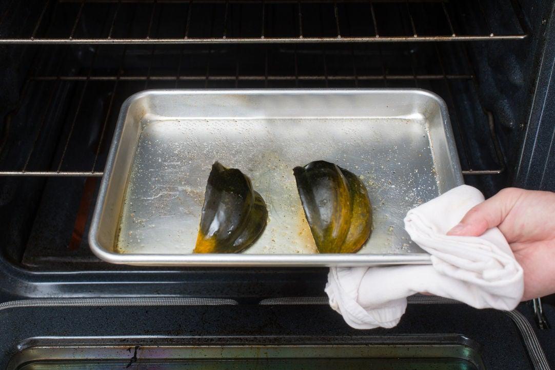 Roast & chop the squash: