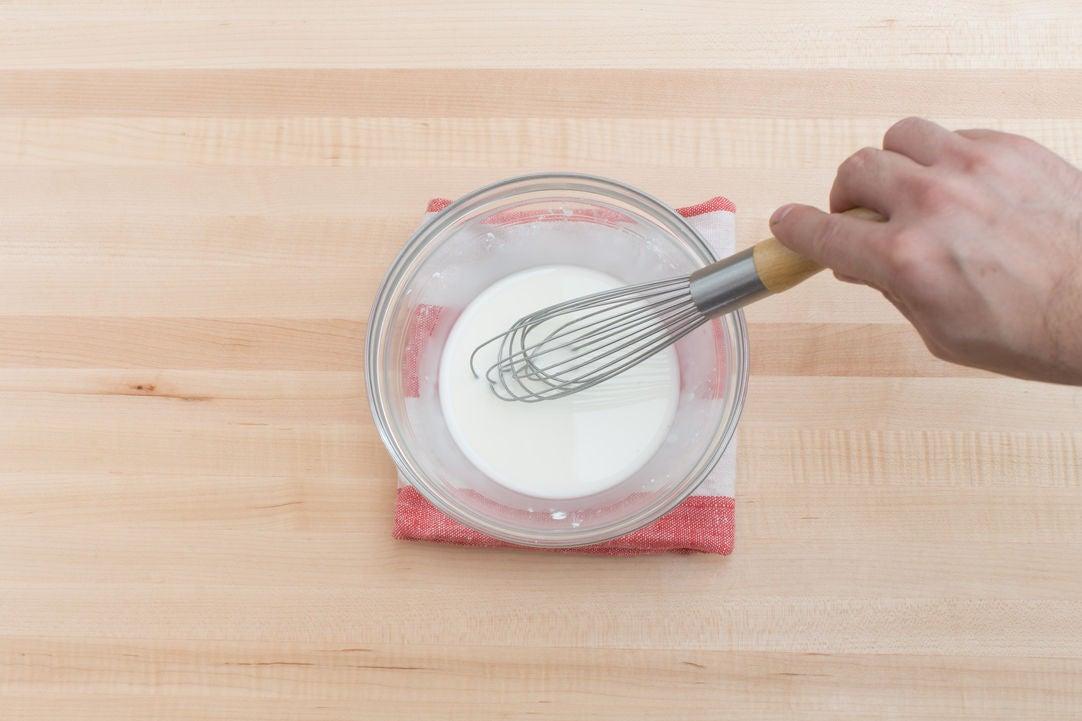 Make the slurry: