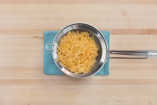 Cook the noodles & serve your dish: