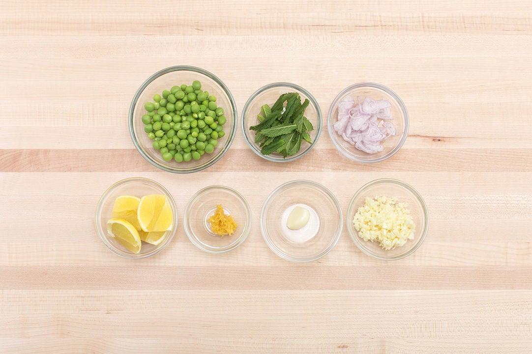 Lemon creme fraiche pasta recipe