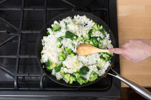 Start the fried rice: