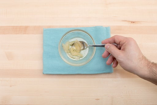 Make the lemon compote:
