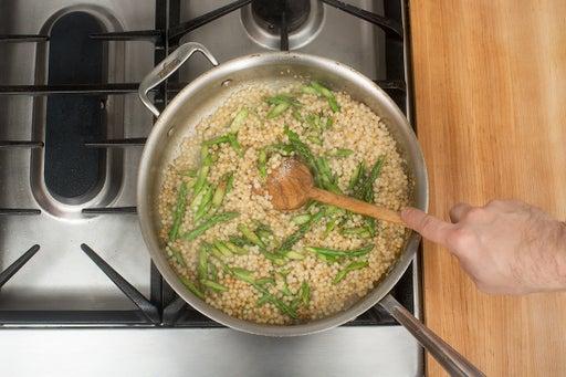 Finish the couscous: