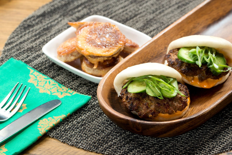 Blue apron unhealthy - Korean Bao Sliders With Gochujang Mayo Sweet Potato Tempura