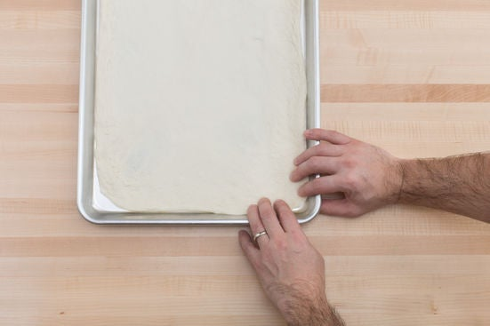 Prepare the dough: