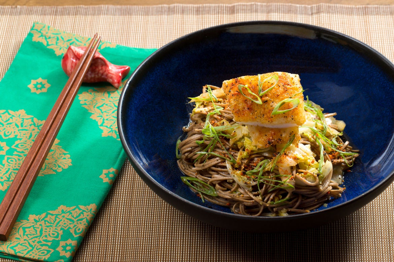 Blue apron yuzu kosho - Crispy Cod Yuzu Shoyu Soba