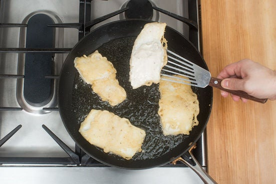 Coat & cook the cod: