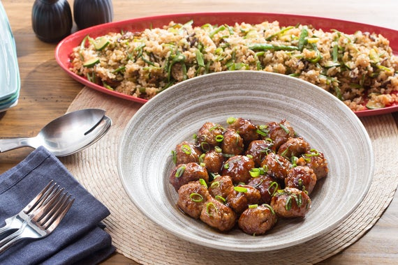 Scallion Meatballs With Soy-Ginger Glaze Recipes — Dishmaps