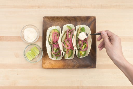 Assemble & plate your dish: