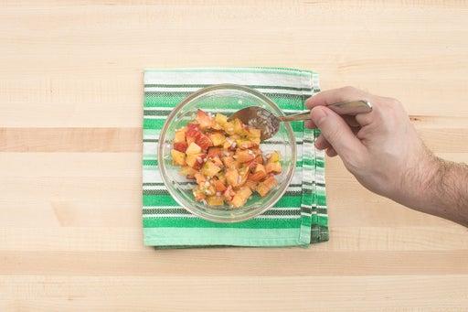 Make the salsa: