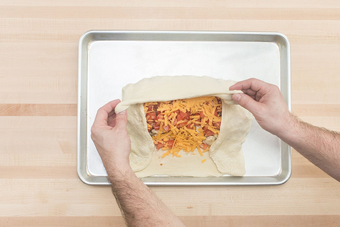 Assemble the roll: