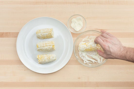 Cook & dress the corn: