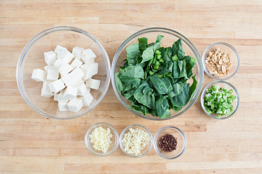 prepare the ingredients wash and dry the fresh produce peel and ...