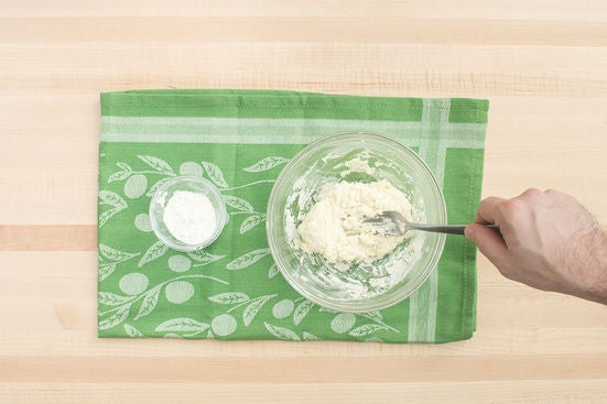 Make the dough & bake the biscuits: