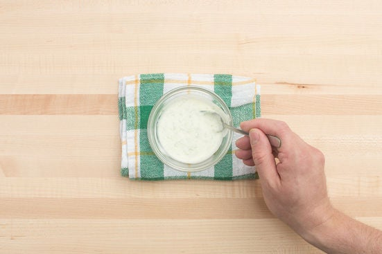 Make the dipping sauce: