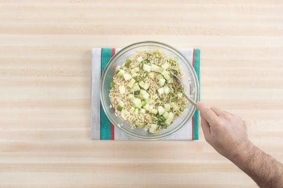 Finish the rice: