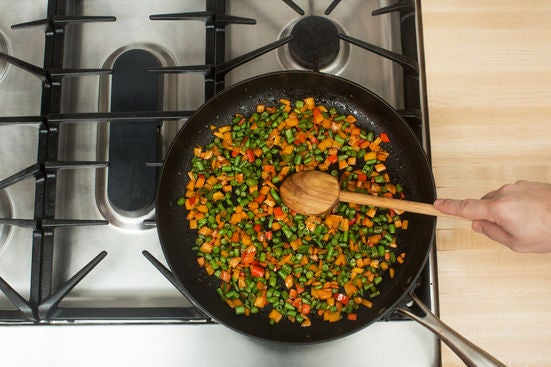 Start the succotash: