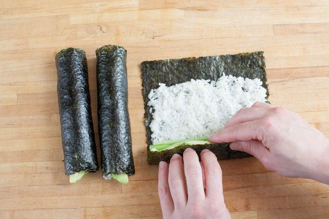 Assemble the sushi: