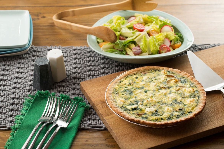 Blue apron quiche artichoke - Summer Vegetable Quiche
