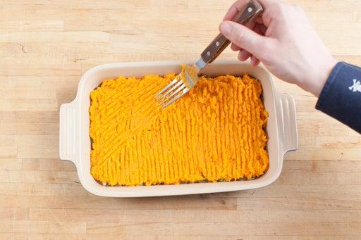 Assemble the pie: