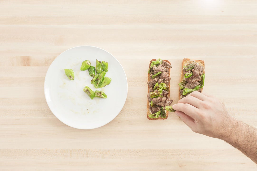 Make the aioli & assemble the sandwiches: