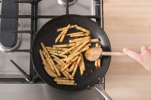 Cook the turnip: