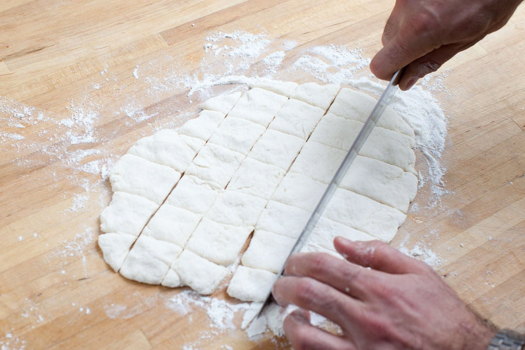 Make the dumplings: