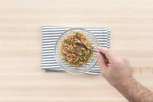 Make the piquillo sauce: