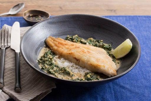 Crispy Catfish with Yellow Curry & Bird's Eye Chile Sauce