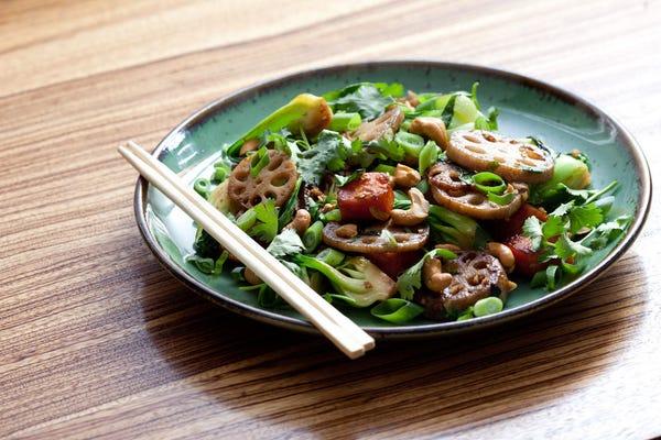 Maple & Sesame Root Vegetable Stir-Fry