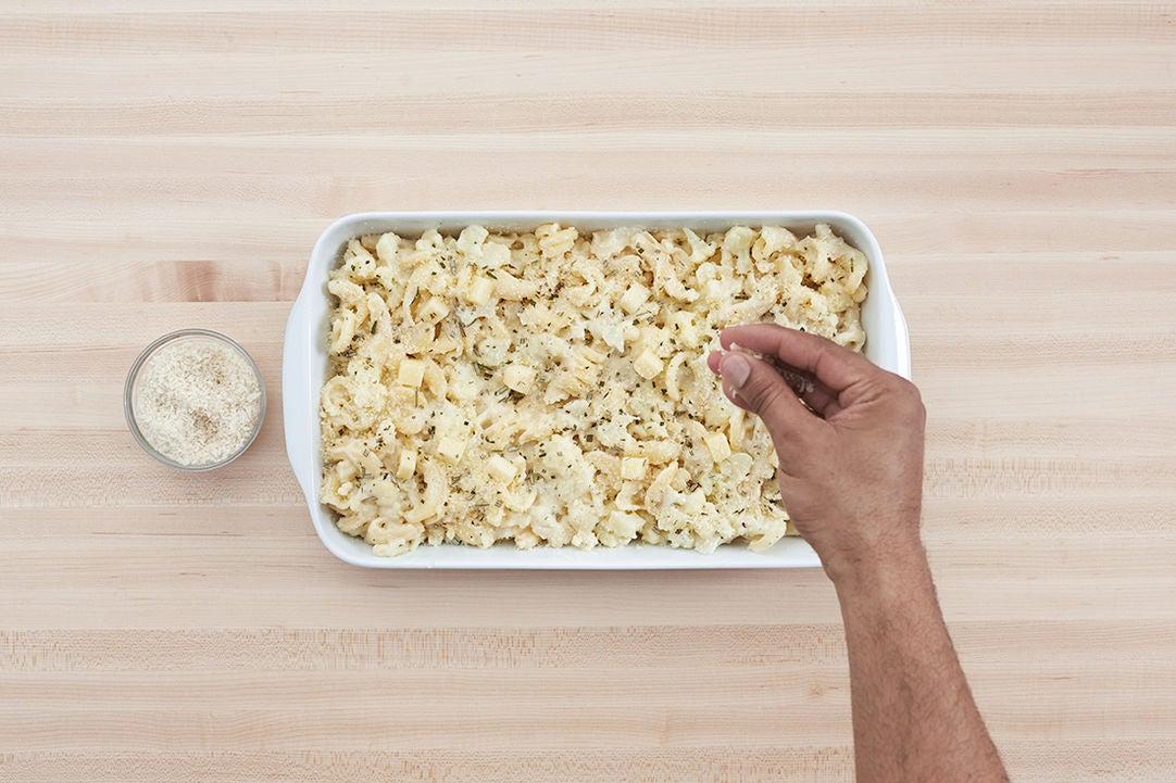Assemble the pasta: