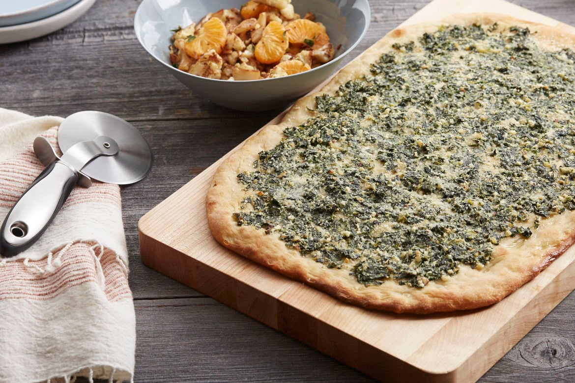 ... ricotta pita bread pizza is easy to make spinach and ricotta pizza