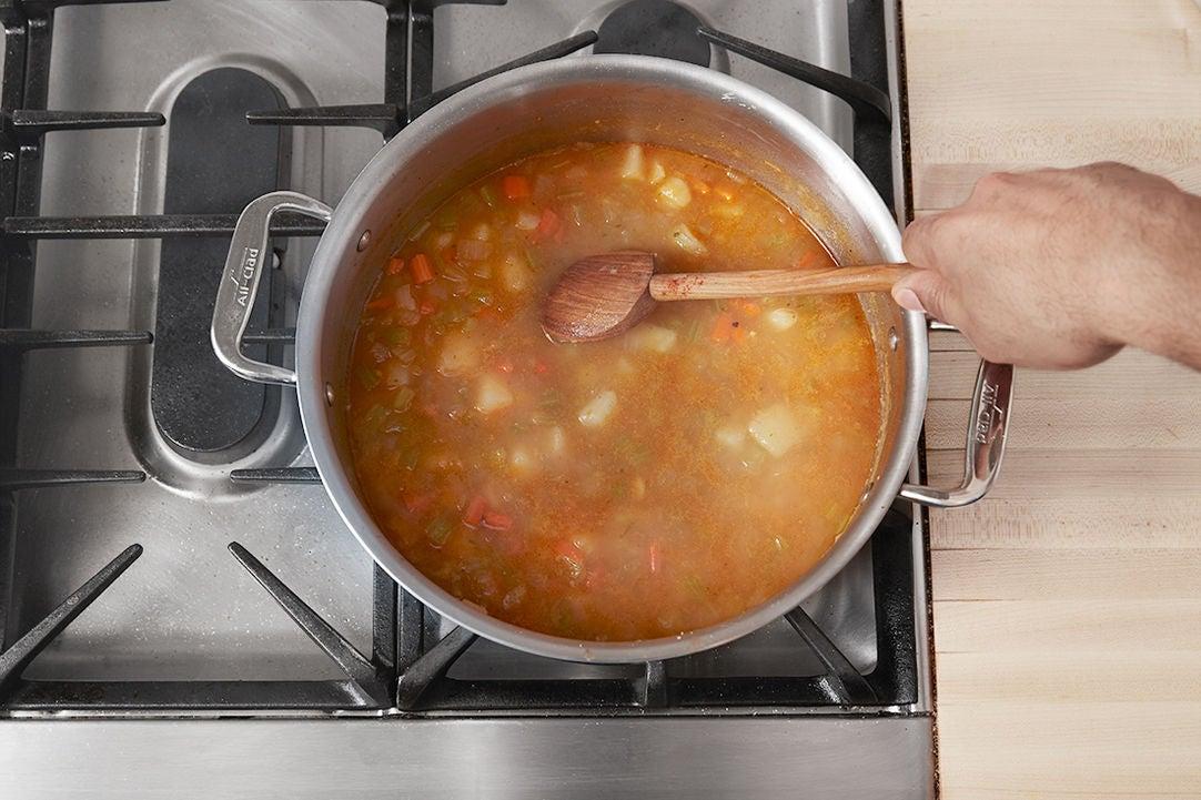 Make the chowder: