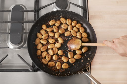 Start the gnocchi: