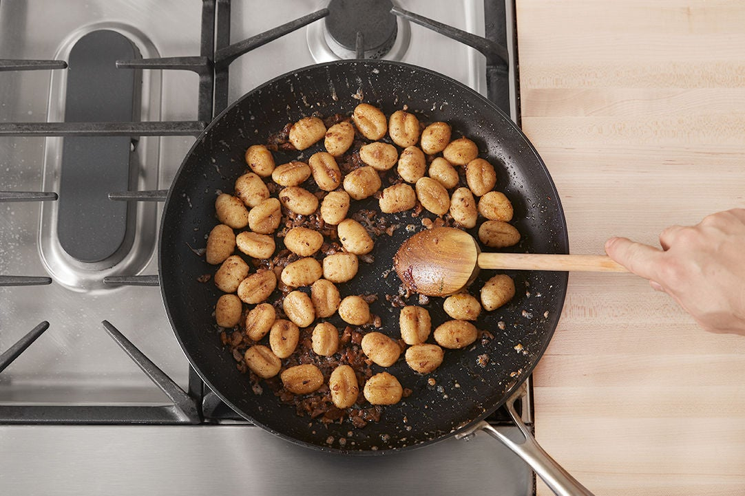Start the gnocchi: