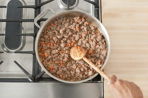 Start the sauce: