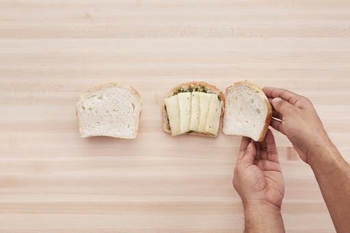 Assemble the sandwiches: