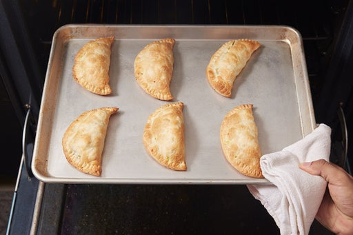 Bake the turnovers: