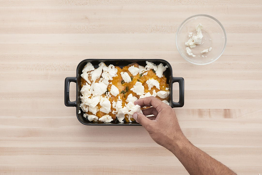 Assemble & bake the chicken:
