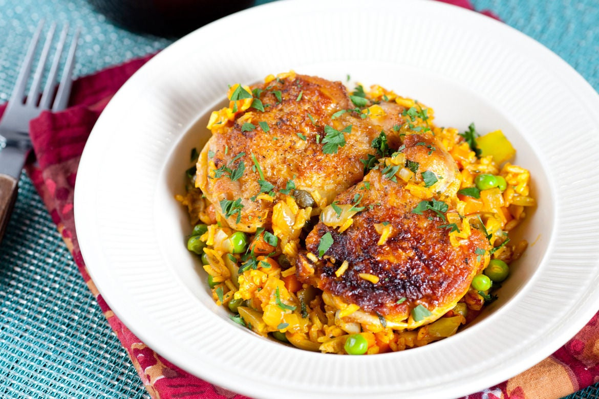 Recipe: Arroz con Pollo - Blue Apron