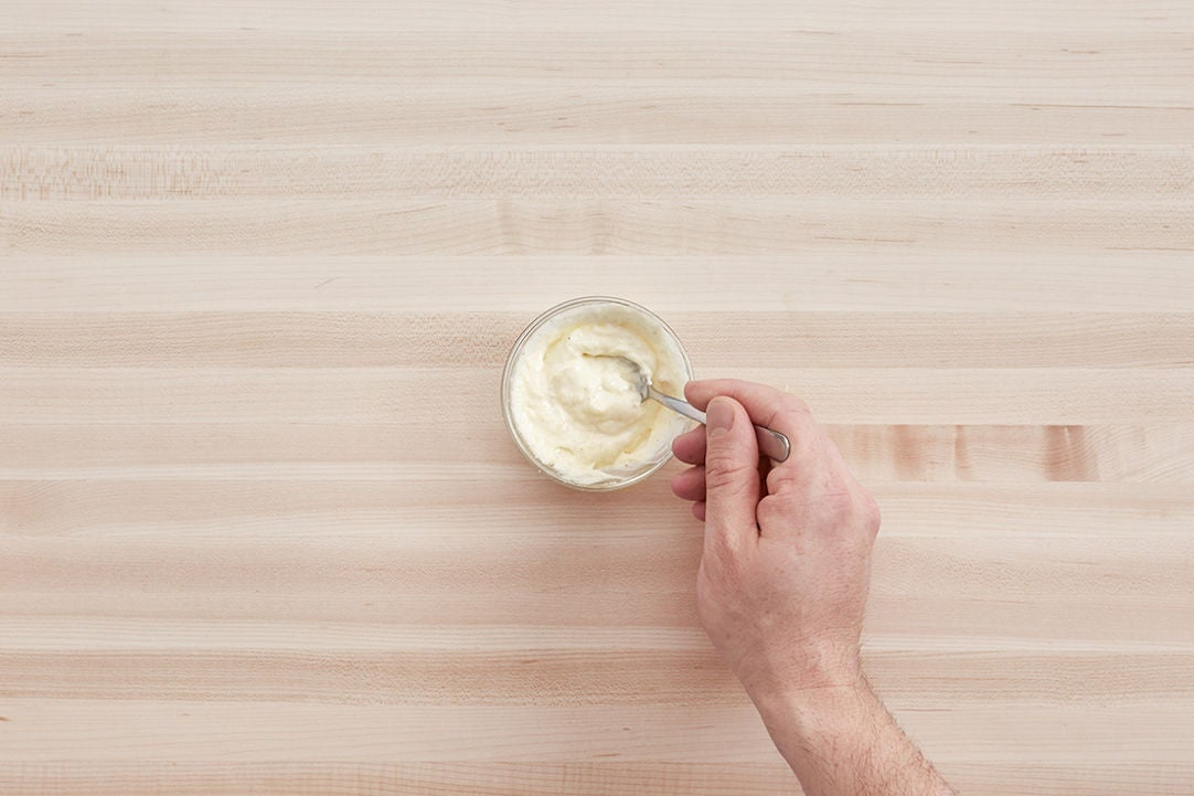 Make the aioli: