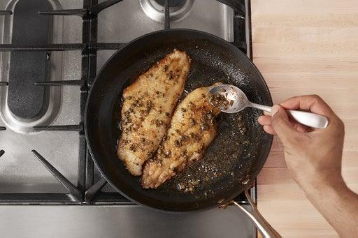 Finish the catfish & sauce:
